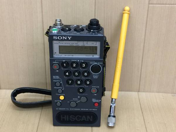01-I174P【SONY/ソニー】高性能 ラジオ ICF-PRO70 FM/LW/MW/SW RECEIVER ジャンク