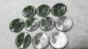 ☆ 東京オリンピック1000円銀貨 (10枚セット) 未使用