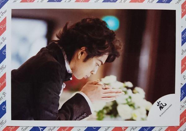 100円◆嵐◆松本潤【花より男子★道明寺司】レア 嵐ロゴ 公式写真④