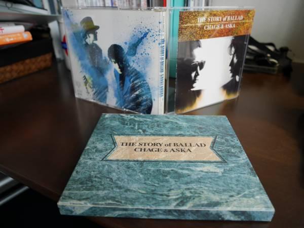 CHAGE&ASKA CD(アルバム) THE STORY of BALLAD  (紙ケース付属)