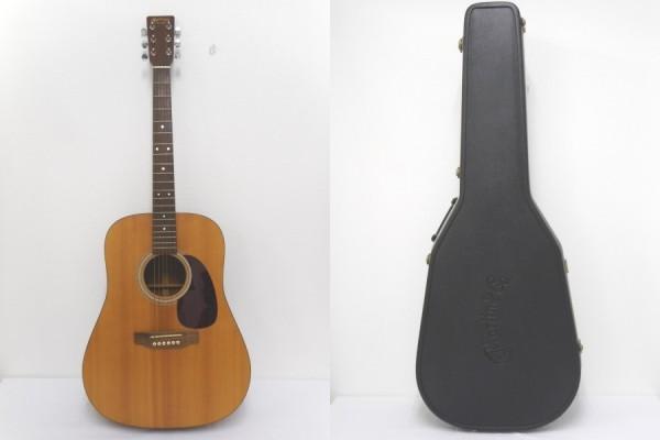 【1円~】 マーティン D-1 美品 アコースティックギター ロゴ入りハードケース マーチン音叉 付 Martin