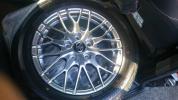 新車外しトヨタノア純正アルミホイールタイヤ 16インチ1台分4本セットタイヤブリヂストン205/55R16 17年12週製造ノアHV WxBに着いてました