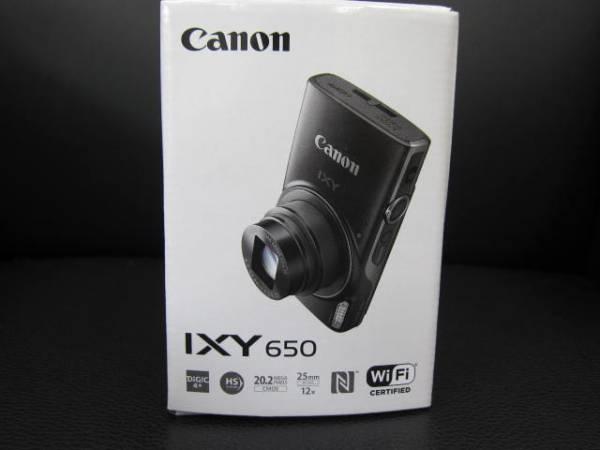 新品 未使用 5年間保証 キャノンIXY650 デジタルカメラ ブラック
