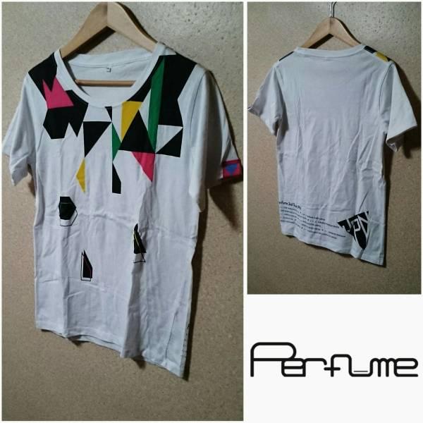 S【Pefume/パフューム】Pefume 3rd TOUR JPN/3周年 レディース ライブ 半袖・Tシャツ ホワイト アーティスト あーちゃん かしゆか のっち