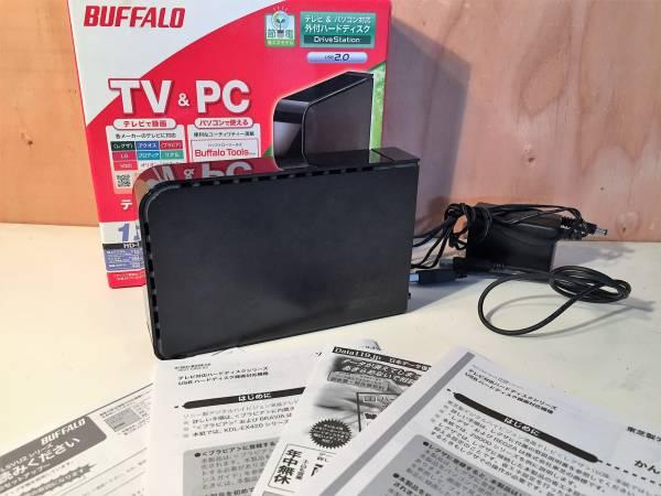 (6) BUFFALO 外付けHDD 1TB バッファロー HD-LSU2Jシリーズ