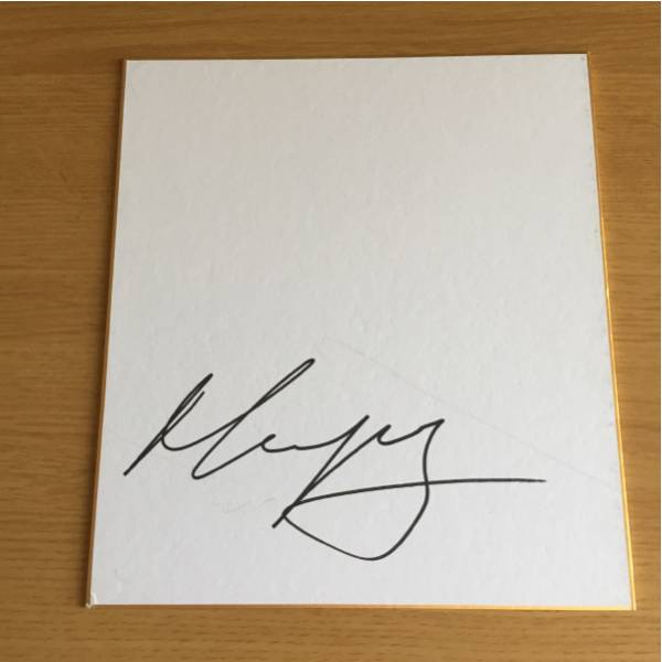 ツールドフランス 山岳賞 ラファエルマイカ直筆サイン色紙