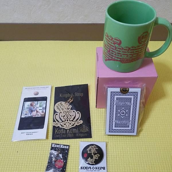 新品未使用☆倖田來未☆ライブツアー2005激レアトランプ&ミュージックギフトカード ライブグッズの画像