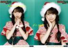 美品 牧野真莉愛 2L生写真 ガチ☆キラ モーニング娘。 クリスマス サンタ 緑 ℃-ute アンジュルム