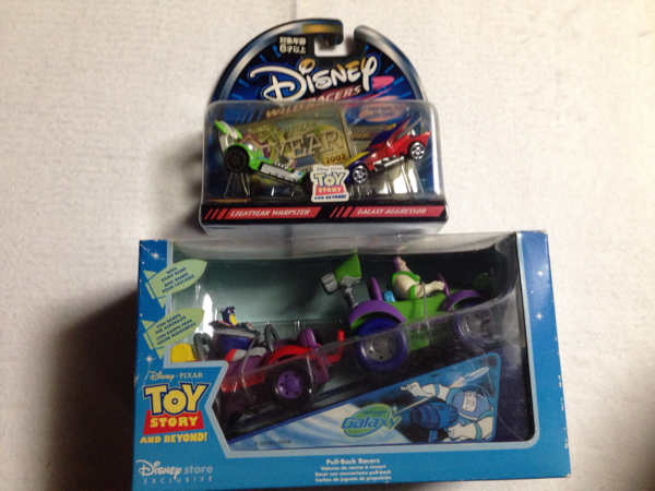 トイストーリー バスとザークの車セット 送料込み ディズニーグッズの画像