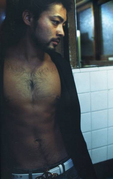 山田孝之★男だったら毛を生やせよ、と 胸毛は俺の誇りですから 16ページ特集★aoaoya グッズの画像