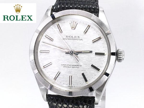 税込み 1971年 ロレックス■オイスターパーペチュアル Ref.1007 ■メンズ腕時計
