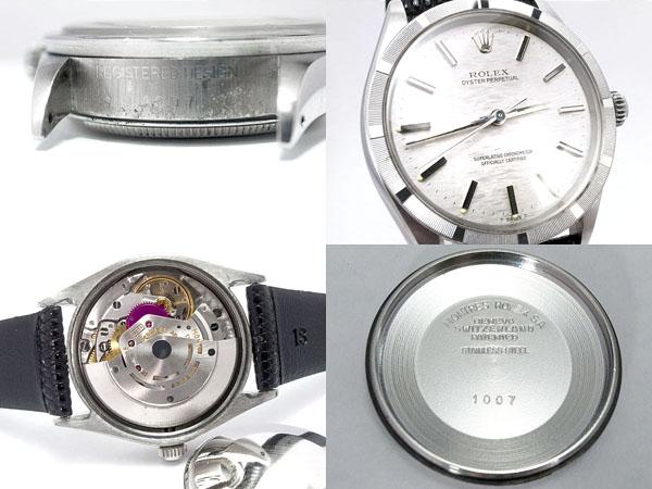 税込み 1971年 ロレックス■オイスターパーペチュアル Ref.1007 ■メンズ腕時計_画像3