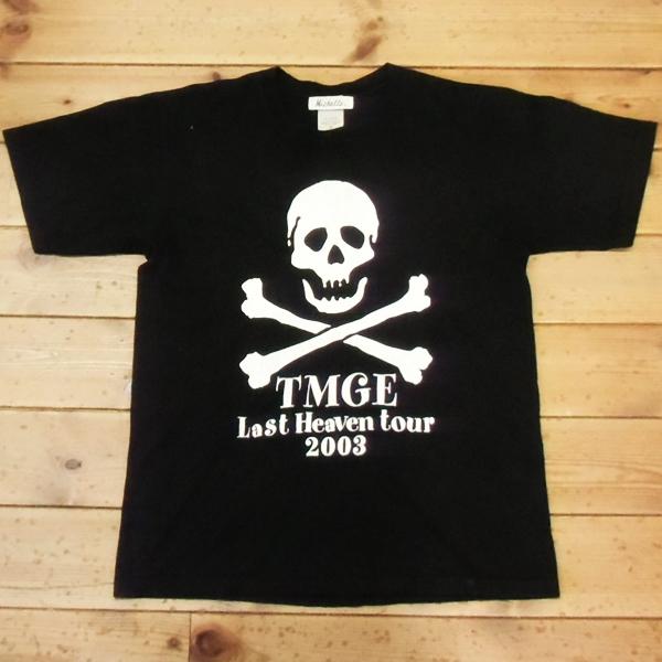 ネコポス対応! THEE MICHELLE GUN ELEPHANT Last Heaven tour 2003 映画 THEE SCENE Tシャツ ミッシェルガンエレファント チバユウスケ