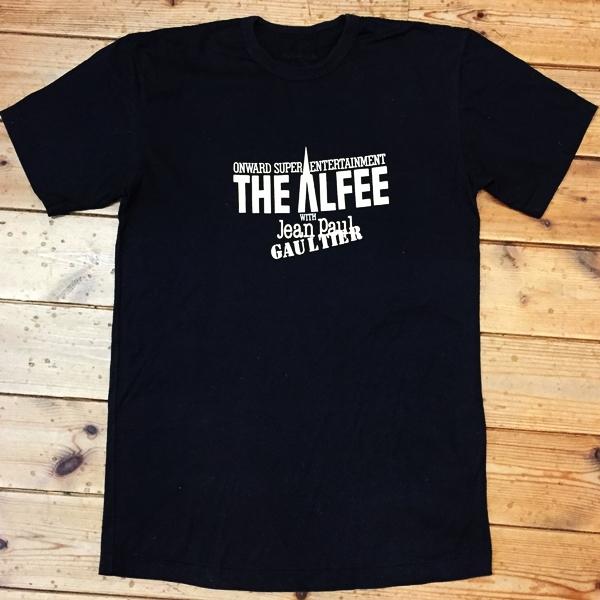 ネコポス対応! THE ALFEE WITH Jean Paul GAULTTER ツアーTシャツ アルフィー