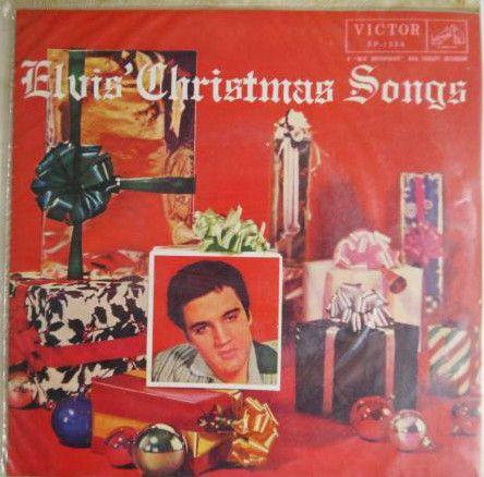 【ビニジャケEP】プレスリーのクリスマス・ソング 【6曲入り EP-1134】Elvis' Christmas Songs
