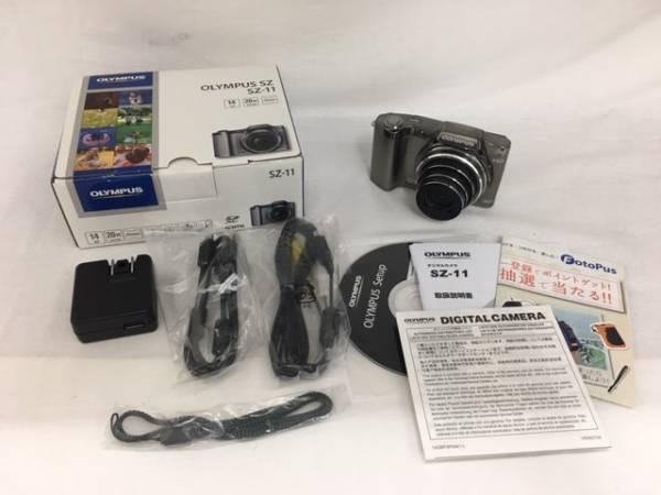 【大黒屋】激安1円~ OLYMPUS オリンパス デジタルカメラ SZ-11 中古品