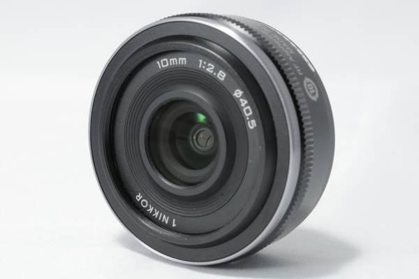 ★極上美品★ Nikon ニコン 1 NIKKOR 10mm f/2.8 ブラック 説明書付き