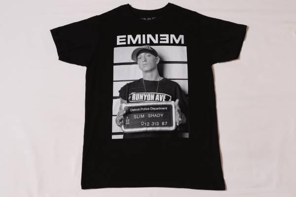 ★エミネム★EMINEM★黒/Mサイズ/ヒップホップ★フォトTシャツ