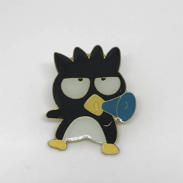 バッドばつ丸 ピンバッジ ① 新品 サンリオ キャラクター アニメ バッチ グッズ 雑貨 グッズの画像