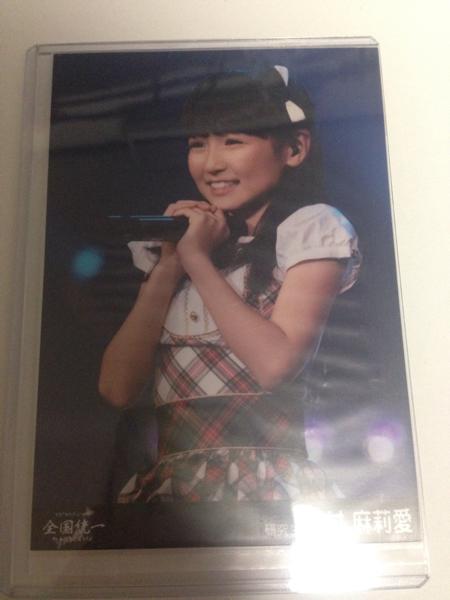 HKT48 今村麻莉愛 生写真 全国統一 終わっとらんけん 横浜アリーナ 横アリ DVD Blu-ray 外付け 特典 全国ツアー ライブグッズの画像