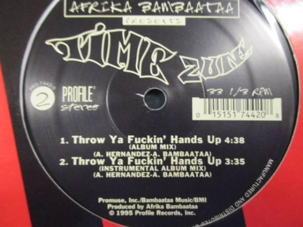 Afrika Bambaataa Time Zune : Throw Ya Funky Hands Up //OLD SCHOOLブレイクダンスBREAK DANCE// 5点で送料無料/12_画像3