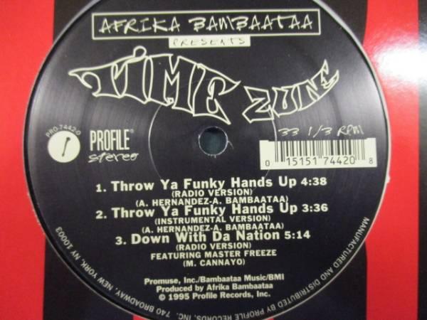 Afrika Bambaataa Time Zune : Throw Ya Funky Hands Up //OLD SCHOOLブレイクダンスBREAK DANCE// 5点で送料無料/12_画像2