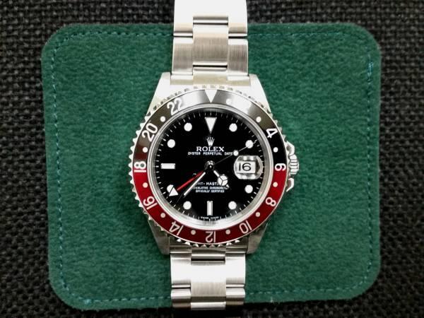 ◆(美品)ロレックス GMTマスターⅡ 16710 Z番 Cal.3186 OH済み ◆_画像1
