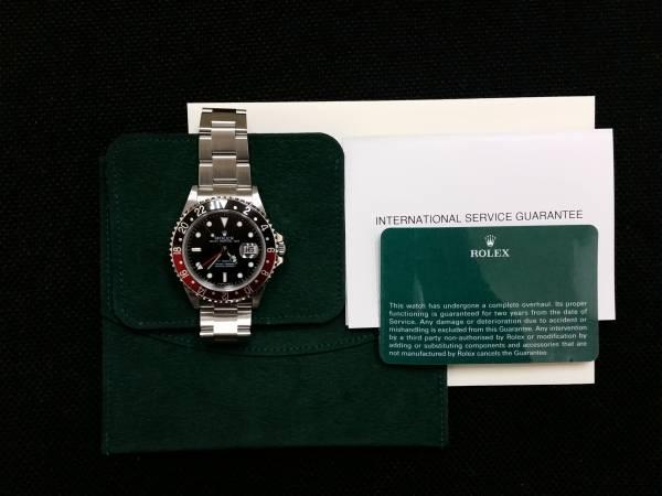 ◆(美品)ロレックス GMTマスターⅡ 16710 Z番 Cal.3186 OH済み ◆_画像3