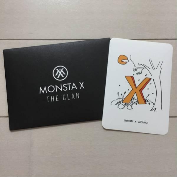 MONSTA X ウォノ 音楽番組収録参加特典 限定 ステッカー BEAUTIFUL