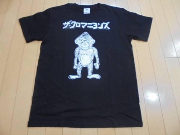 極美品 ザ・クロマニヨンズ Tシャツ黒 ライブグッズの画像