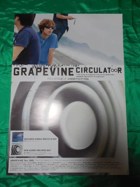 GRAPEVINE グレイプバイン Circulator B2サイズポスター