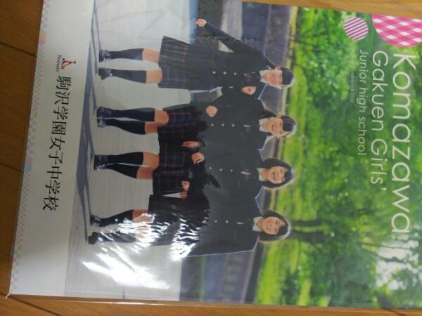 2018駒沢学園女子中学パンフ