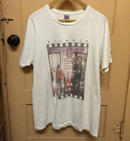 レア BLONDIE ブロンディ ビンテージ Tシャツ PABLO カニエ NIRVANA RAP TEE L
