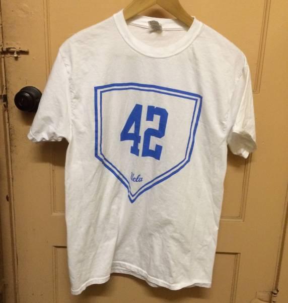 レア JACKIE ROBINSON Tシャツ UCLA 40ACRES SPIKE LEE スパイクリー rap tee M