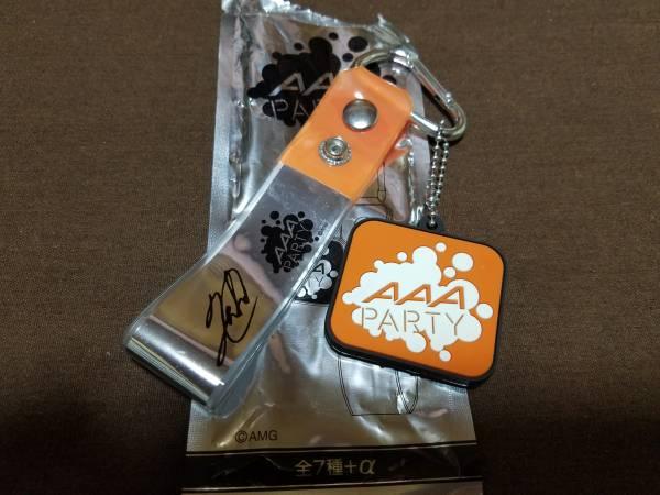 新品 AAA LEAPOVER2016 FC限定 銀テープホルダー 橙 オレンジ 西島