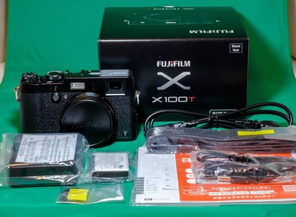 **Fujifilm X100T** メーカー保証1年付・ほぼ新品