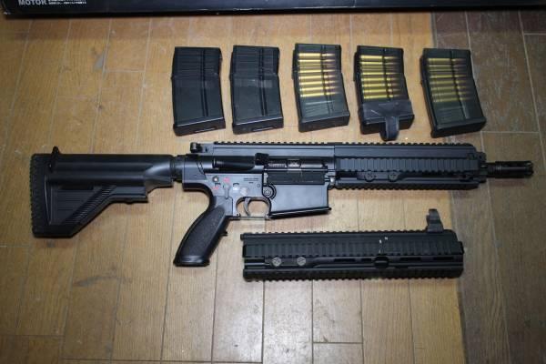 ★東京マルイ 次世代電動ガン HK417 Early Variant アーリーバリアント カスタム リポ