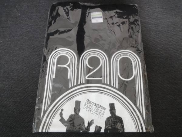 新品 RHYMESTER 20th Tシャツ ライムスター R-20 宇多丸 日本語ラップ