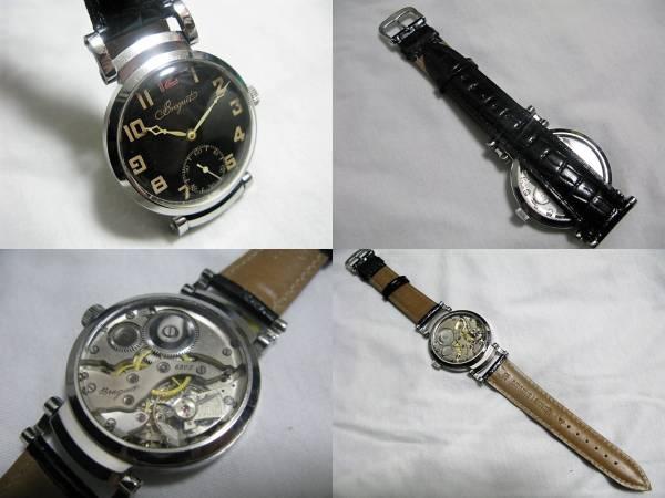 ブレゲ Breguet 紳士 手巻 腕時計 ヴィンテージ メカニカルウォッチ メンズ チラネジテンプ_画像3
