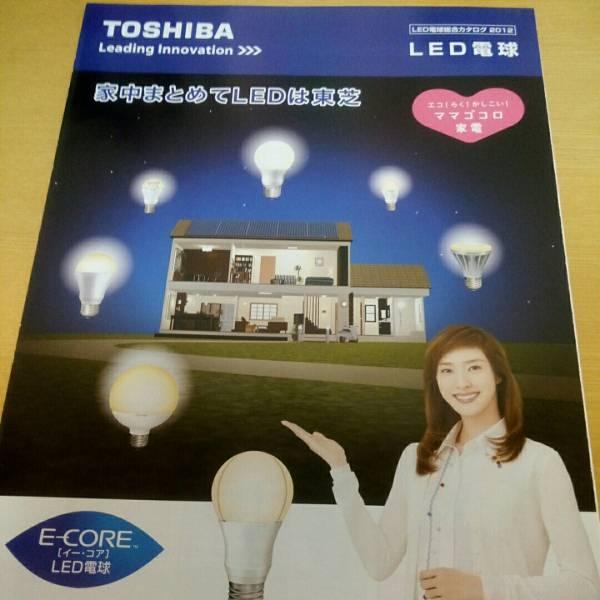 天海祐希 東芝 LED電球 カタログ 2012