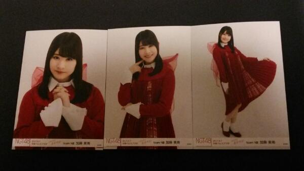 NGT48 青春時計 会場生写真 5/7 京都パルスプラザ 加藤美南 コンプ ライブグッズの画像