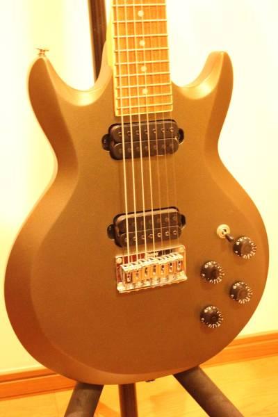 ★ギター 『ibanez アイバニーズ AX-7221 AX 7弦 メタリックダークグリーン』2005年製 美品