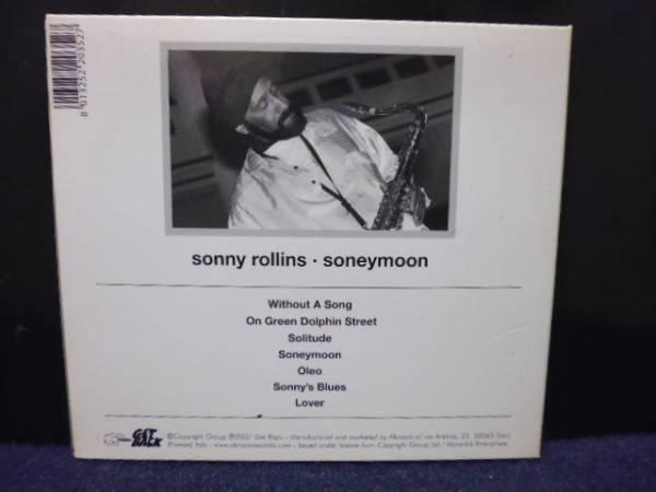 ★送料無料★sonny rollins/soneymoon 輸入盤 紙ジャケ_画像2