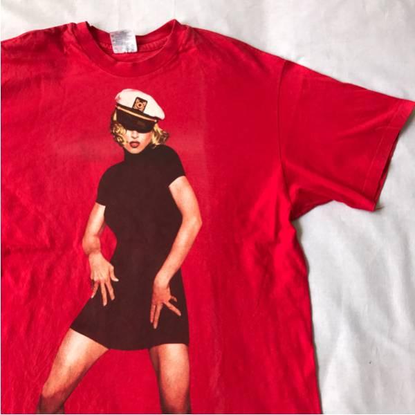 93年 MADONNA ツアー Tシャツ ビンテージ マドンナ NIRVANA SONIC YOUTH DINOSAUR Jr レッチリ METALLICA メタリカ RHCP L7 TAD 80s 90s ライブグッズの画像