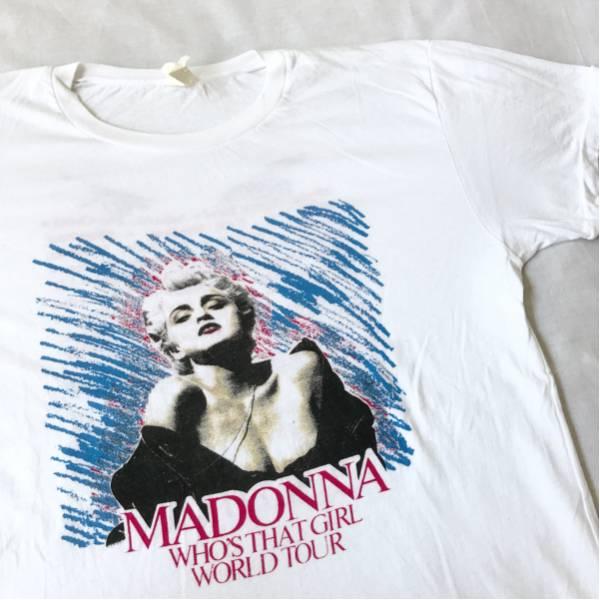 87年 MADONNA ツアー Tシャツ ビンテージ マドンナ NIRVANA SONIC YOUTH DINOSAUR Jr レッチリ METALLICA メタリカ RHCP L7 TAD 80s 90s ライブグッズの画像