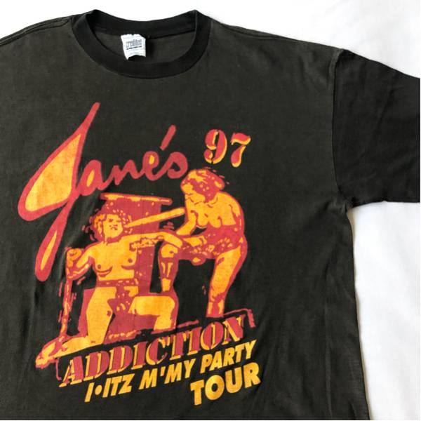 97年 JANE'S ADDICTION Tシャツ ビンテージ 90s 90年代 ジェーンズアディクション オリジナル オルタナティヴ ロック バンド