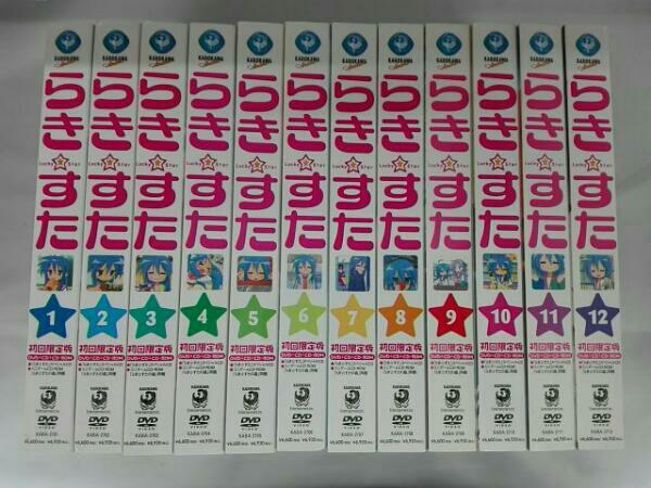 らき☆すた DVD 12巻セット  グッズの画像