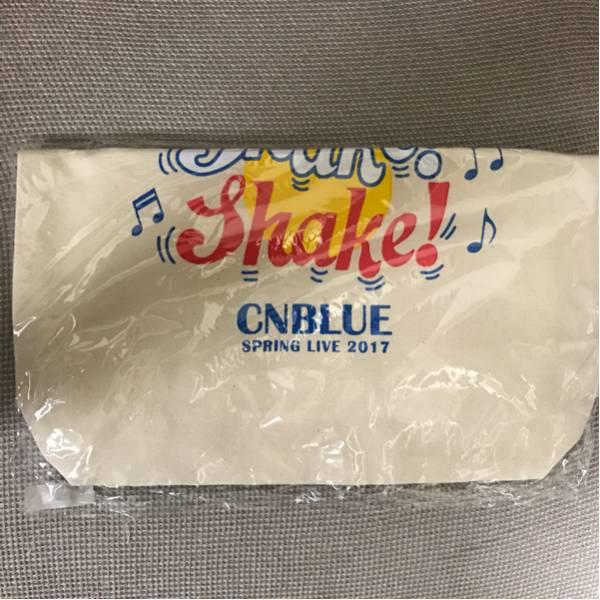 CNBLUE SHAKE ツアーグッズ トートバッグ 白 ホワイト ライブグッズの画像