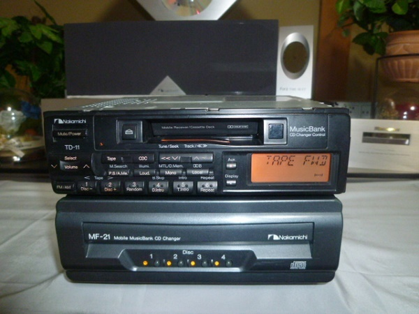 Nakamichi Height Sound Quality Td 11 Mf 21 4disc Cdc Rare Real
