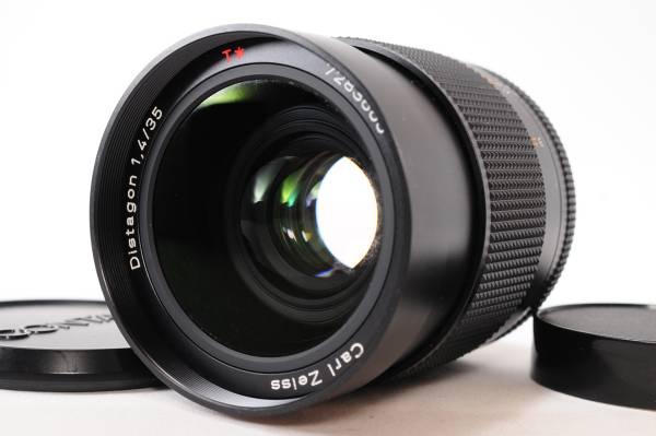 #598 稀少 非常に美しい外観 Carl Zeiss Distagon 35mm F1.4 MM カールツァイス ディスタゴン